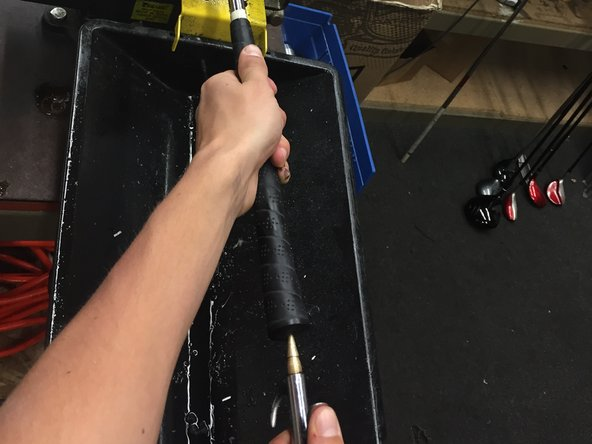 How to change the grips on a golf club