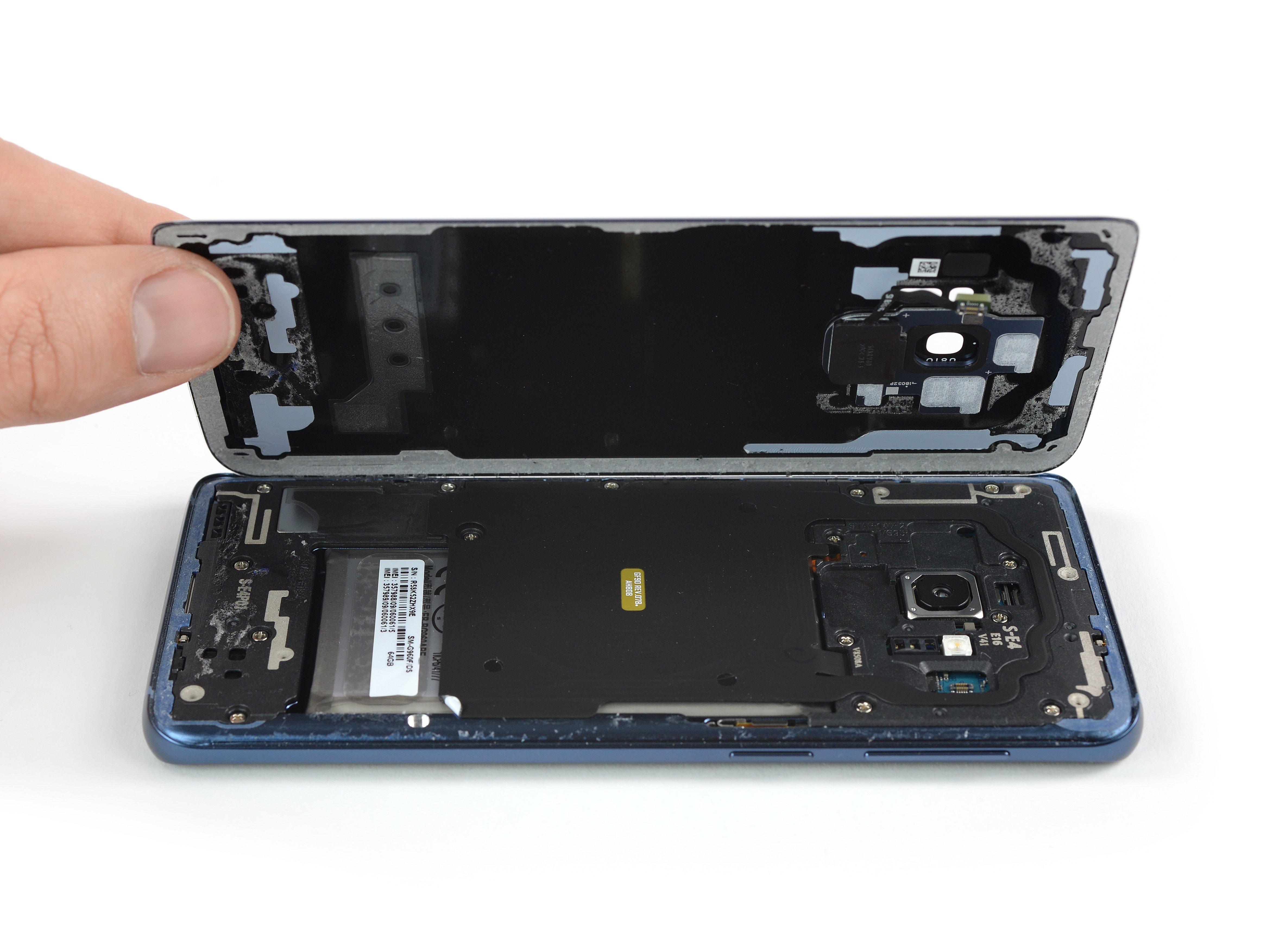 Retrait de la coque arrière du Samsung Galaxy S9 - Tutoriel de ...