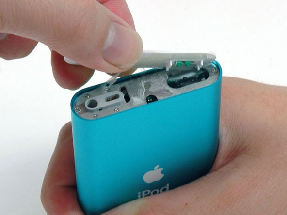 Lift the top bezel off of the iPod.