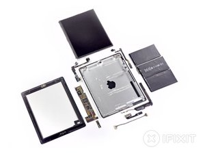 iPad 2 Wi-Fi EMC 2415 Teardown