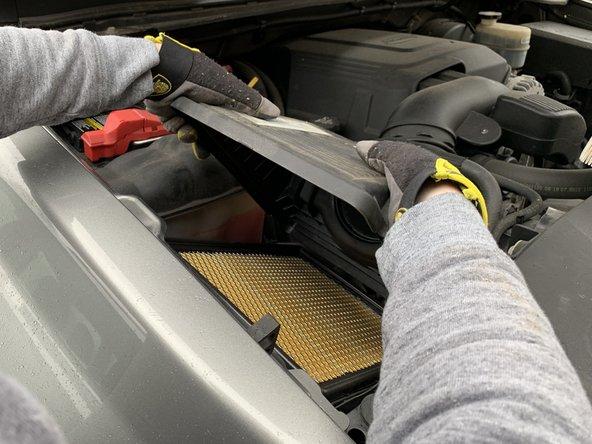 2007-2013 Chevrolet Silverado Air Filter Replacement
