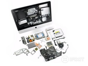 "iMac Intel 21.5"" EMC 2428 Teardown"