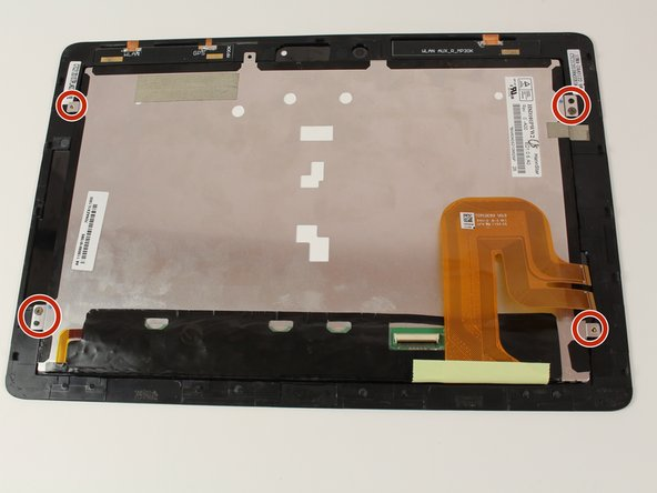 Eee Pad Transformer Prime TF201 Screen Replacement