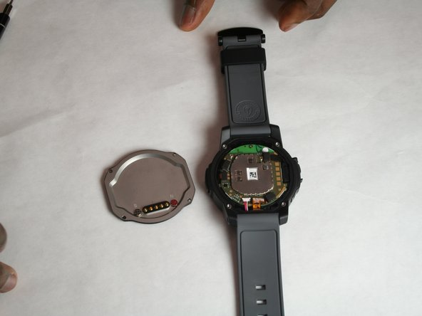 Remove the back plate of watch.