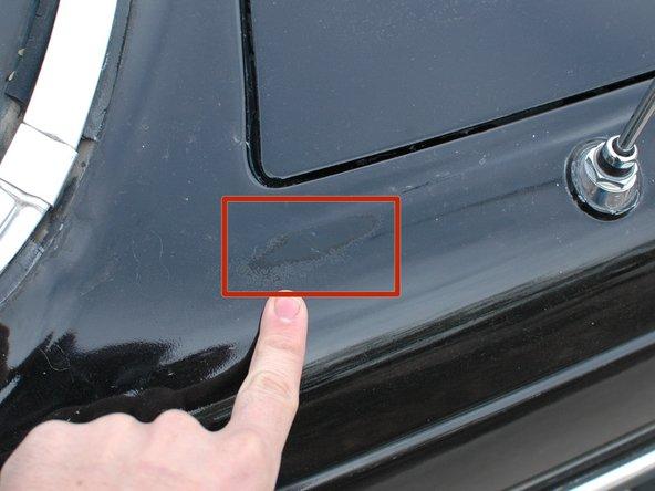 Vehicle walk-around and exterior check