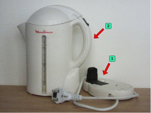 Notre étude porte sur une bouilloire de la marsque Moulinex modèle AC10-10S011. Sa puissance est de 1100W