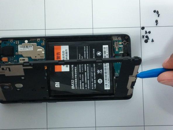 Xiaomi Mi 4 Rear Case/Midframe Replacement