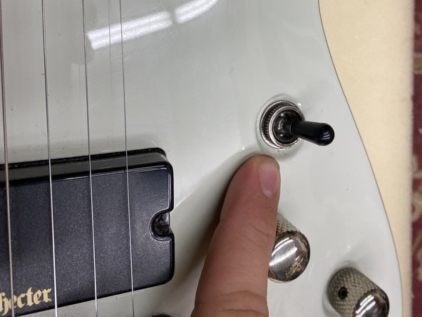 Schecter Demon-7 Pickup Selector Switch Replacement