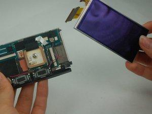 Remplacement de l'écran LCD du Sony Handycam HDR-CX580V