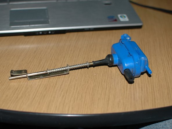 Remove the actuator from your car. Inspect it for obvious leaks.