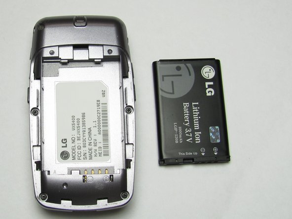 LG VX5400 Battery Replacement