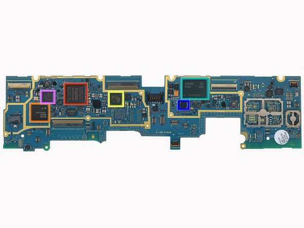 There are some major players on this motherboard: