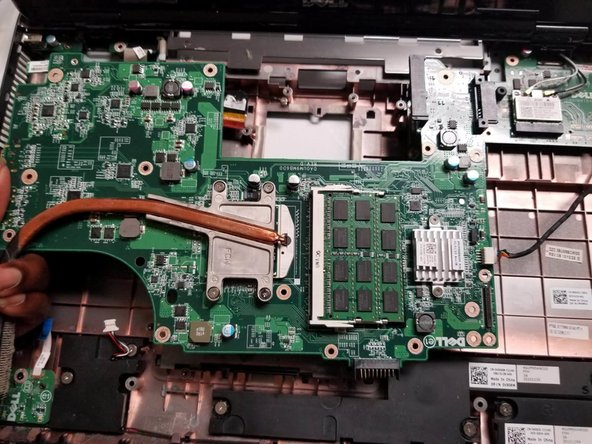 Dell Inspiron 17R-N7010 Motherboard Replacement