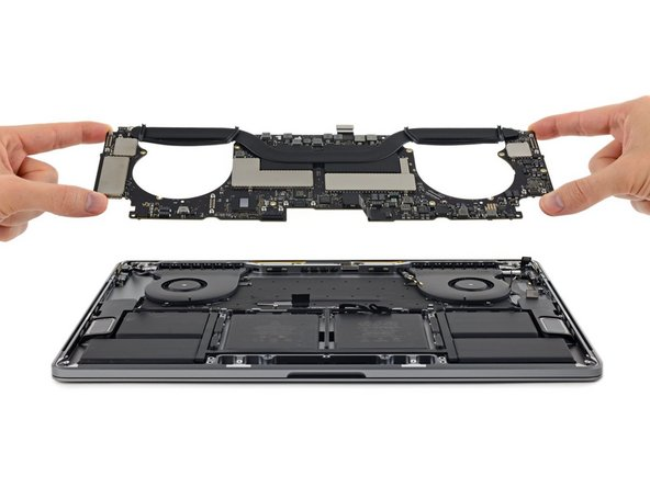 "MacBook Pro 15"" Touch Bar 2017 Logic Board Replacement"