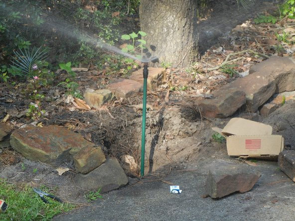 Replacing a Sprinkler Extension