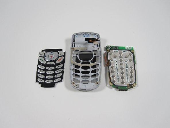 Remplacement du clavier du Samsung SGH-X495