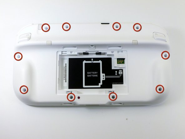 Wii U GamePad Outer Case Replacement