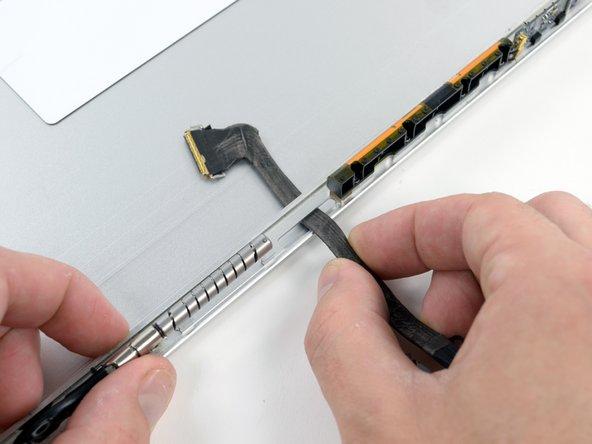"""MacBook Pro 17"""" Unibody Rear Display Bezel Replacement"""