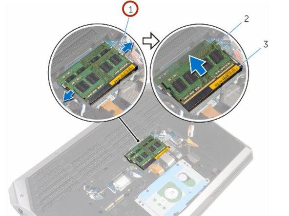 Dell Alienware 15 R2 Memory Modules Replacement