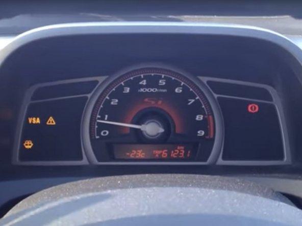 How To Fix Stuck E-Brake Sensor (Cold Weather)