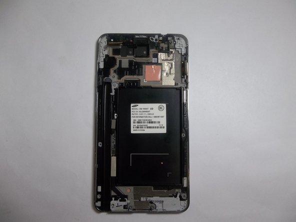 三星盖乐世 Note 3 显示组件更换
