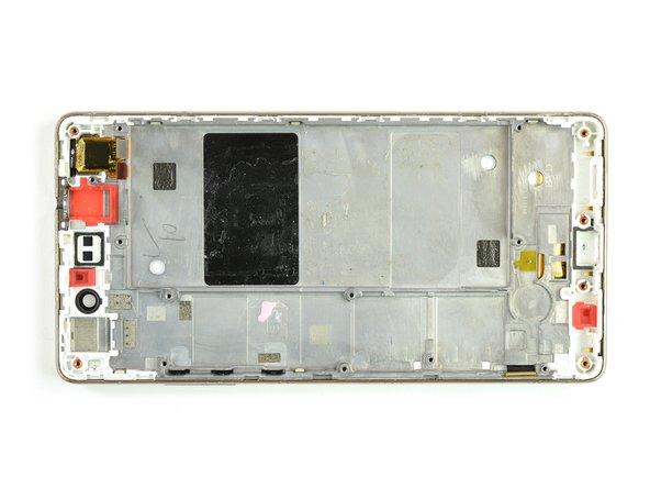 Huawei P8 Lite Vervanging van het scherm inclusief frame
