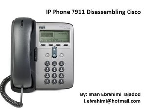 Cisco Unified IP Phone 7911G Teardown