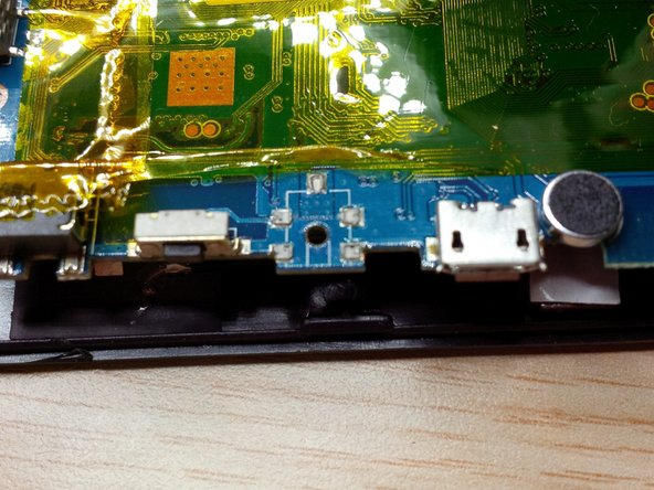 after removing the mainboard , you'll see the missing dc jack.