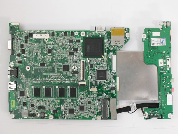 Acer Aspire One ZG5 Motherboard Replacement