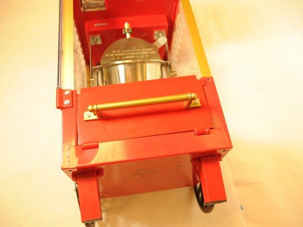 NOSTALGIA KPM508 Door Tray Handle Replacement