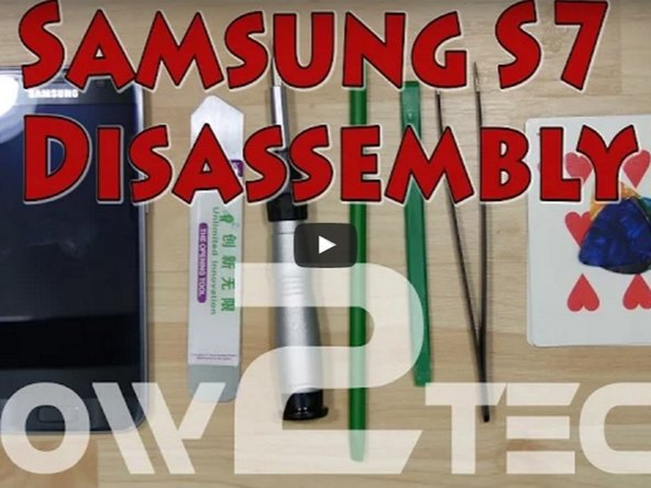 Samsung Galaxy S7 Edge Screen Assembly Replacement