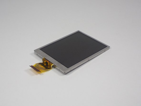 Sanyo VPC-T850 LCD Display Replacement