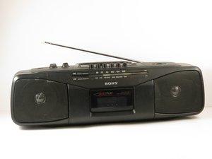 Sony CFS-204 Radio Cassette-Recorder Repair