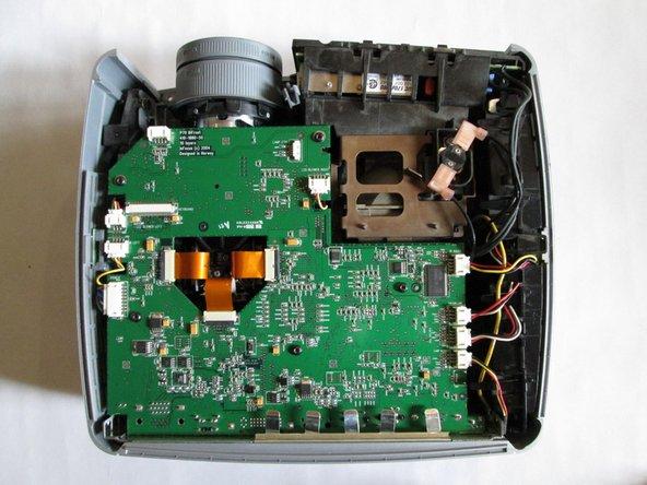 InFocus LP540 Projector Main Board Replacement