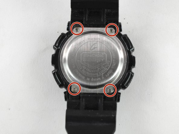 Casio G-Shock G302 Battery Replacement