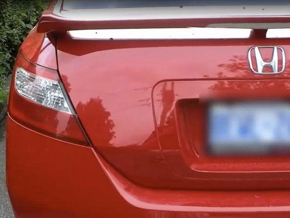 How To Remove Honda Logo (Debadge)