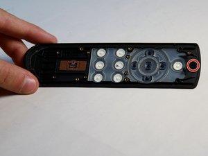 Remote Control Button Panel