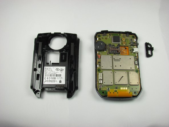Lift and remove inner back cover and set aside.
