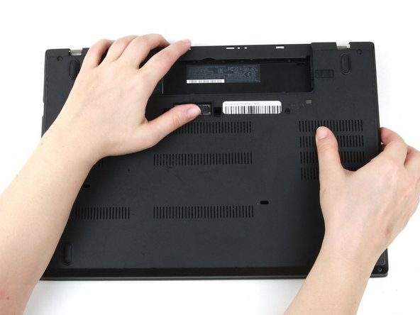 Lenovo ThinkPad T470 Bottom Cover Replacement