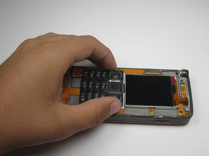 Front Screen and Front Keypad