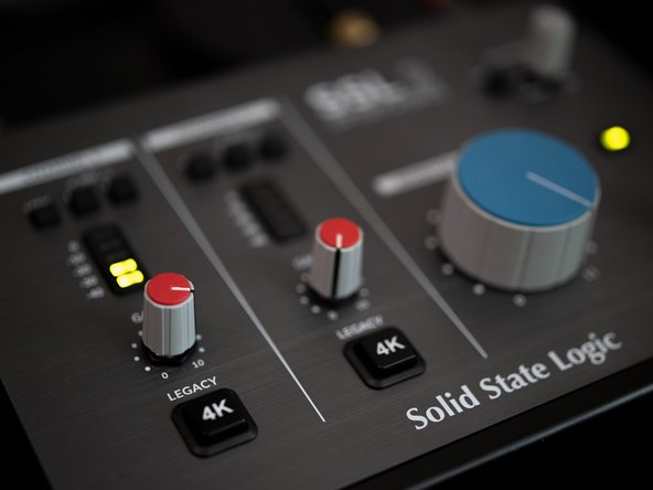 SSL 2 is a very straightforward audio interface that is easy to use and intuitive. Each function has its own analog control. Its a pleasure to use.