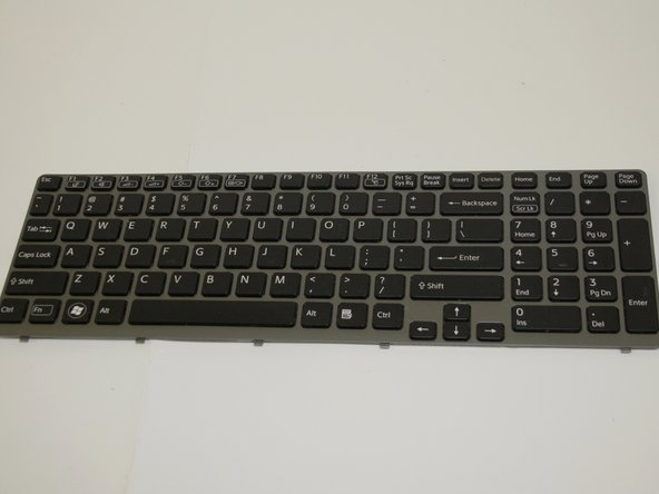 Sony Vaio SVE15112FXS Keyboard Replacement