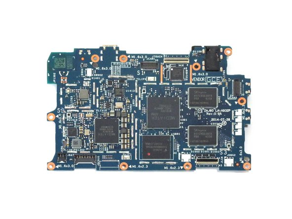 Kindle Fire HD 6 マザーボードの交換