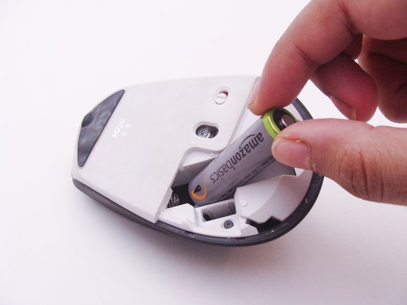 Begin disassembly by removing the battery