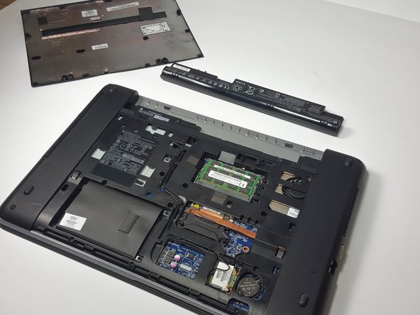 HP ProBook 455 G1 Service Panel Replacement