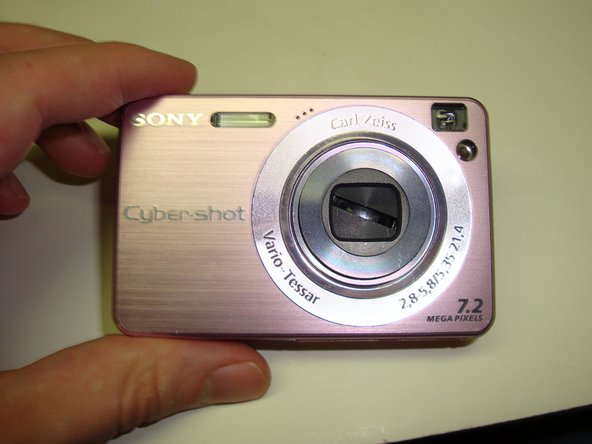 If the camera happens to have a problem (like the one shown) where the shutter does not open or close fully, this can be fixed at this point.