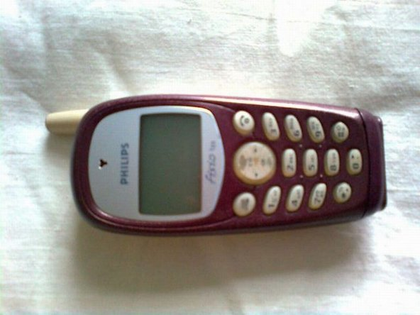 We'll begin with a few pictures of how the phone looks