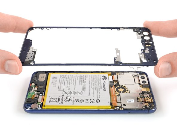 Huawei Honor 8 Midframe Bezel Replacement