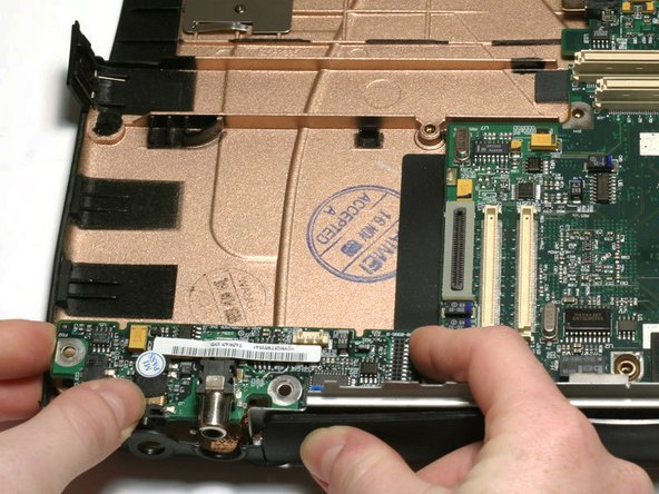 Some desktop computers feature a sound card, which provides the audio output to the speakers.