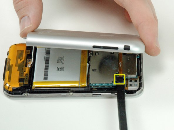 Make sure the phone is off before disconnecting the headphone jack cable.